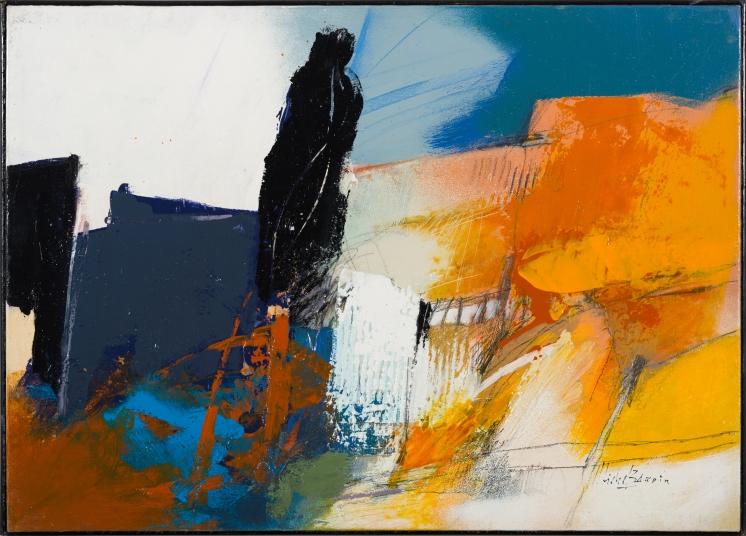 Paysage de Michel Bardin